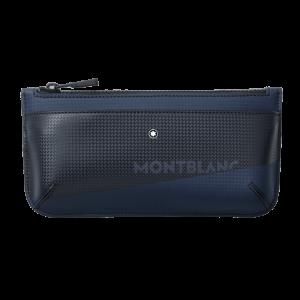 Pochette Piccola Montblanc Extreme 2.0 con Stampa Blu/nero