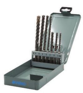 Serie 7 punte per trapani a martello SDS-PLUS SpeedMaster Krino 03168401