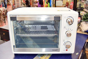 Forno Da Banco Bianco Kooper Elettrico Ventilato 38 Litri NUOVO