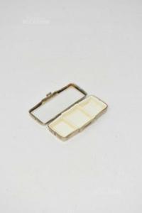 Box Holder Pills With Mirror 6.5x3 Cm