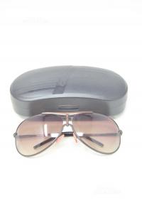 Glasses Sun Carrera 120flag 1 Krzyy 68-10 (small Striscio Su 1 Lens) Case
