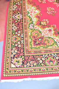 Carpet Red Green Butxthe 455x265 Cm (some Blot Visibile)
