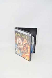 Video Game Pc Sacred The Legend Dellarma Sacred Used Pc Cdrom Vision Italian