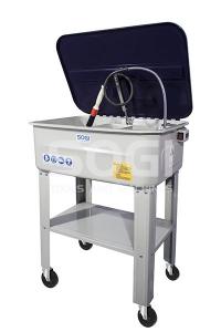 Vasca lavapezzi mobile per officina SOGI SP-LV-ER
