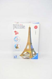 Tour Eiffel.puzzle 3d 216 Pieces - Ravensburger - Building
