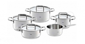 Fissler bonn  batteria cucina set 9 pz
