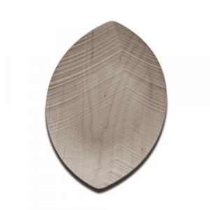 leaf vassoio acero grande