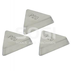 Set di 3 inserti per fresa a spianare SOGI FRS-50