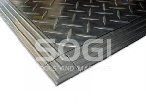 Bordo angolare per piastrella in PP SOGI PAV-A pavimentazione auto moto officina