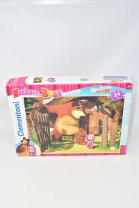 Puzzle Masha And Bear 24 Pieces