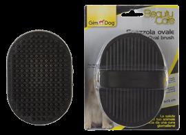 Spazzola ovale per animali Gimdog