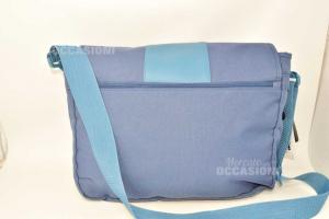 Tracolla Blu Vespa Di Grandezza 45 X 39 Cm