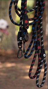 CLICK&LOCK Guinzagli in corda gimdog