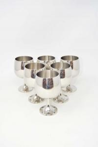 6 Glasses Per Wine Amc In Steel