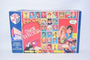 Game Vintage Table Top Crime Detector Big Jim