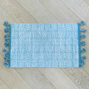 Tappeto Tiago azzurro 55 x 180
