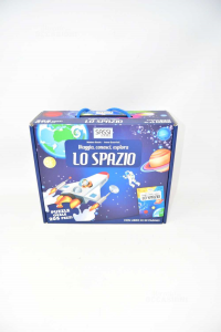 Game Puzzle Oval 205 Pieces - Space Stones Science