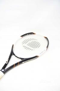 Racket Tennis Artengo Tr720 Black White And Orange L2 4 2 / 8 L