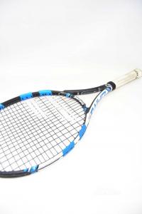 Racket Tennis Junior Babolat Jr26 Black Blue White 4 0 / 8