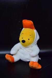 Pupazzo Winnie The Pooh Con Vestito Da Papera Altezza 20 Cm