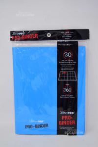 Raccoglitore 360 Carte Blu NUOVO