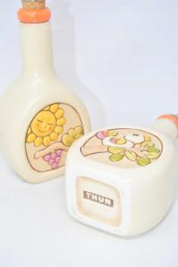 Porta Olio E Acerto In Ceramica Thun Altezza 22 Cm