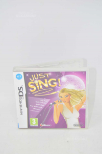 Videogame For Nintendo Ds Just Sing