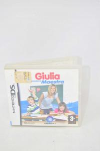 Videogame For Nintendo Ds Giulia Passion Maestra