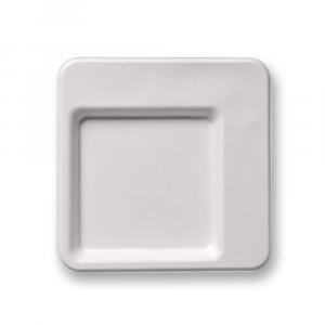 Piatto piano Design 20x20 – Linea Diamond