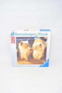 Puzzle Ravensburger Pair Kittens 500 Pcs