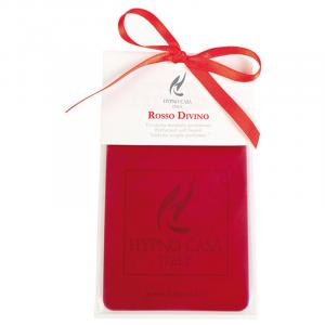 Tavoletta profumata Hypno Rosso divino per armadio o per auto 3650