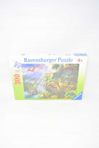 Puzzle New Ravensburger 9 + Dinosaurs 300 Pieces