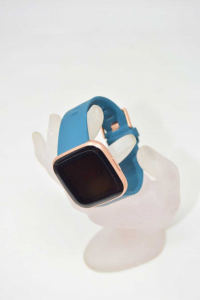 Orologio Fitbit 2018 Cinturino In Gomma Color Petrolio Con Cavo