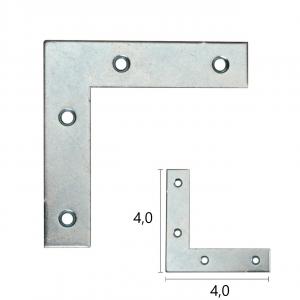 LASTRINA ANGOLARE PIATTA 4,0X4,0cm