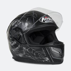 CASCO MOTO INTEGRALE AIROH T600 CRUEL BLACK