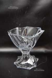 Crystal Bowl Holder Candy Height 19 Cm