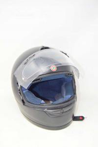 Motorcycle Helmet Black Arai Helmet Model Ece22-05 Sizexl 61-62 Cm
