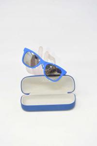 Occhiali Da Sole Junior Enrico Coveri Blu Mod. 3-1455 51 20 L135