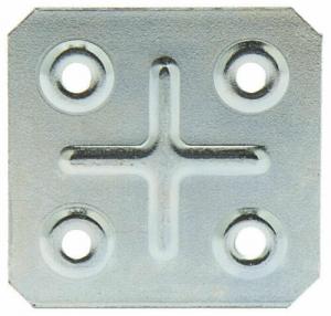 PIASTRINA QUADRA 4 FORI 6,0X20,0cm