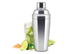 H&H Shaker per coctail acciaio inox 75cl