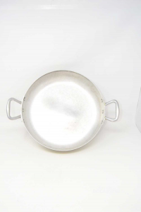 Pentola In Alluminio Da Chef Con Manici 32 Cm Diametro