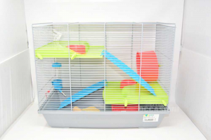 Hamster Cage 28x42x49 Cm With Accessories
