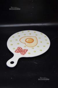 Tagliere In Ceramica Thun Da Appendere 24.5x32.5 Cm