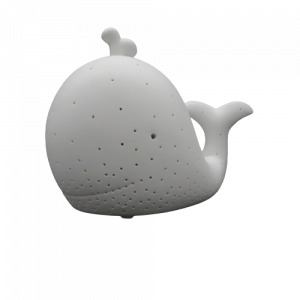 Mascagni lampada balena porcellana traforata
