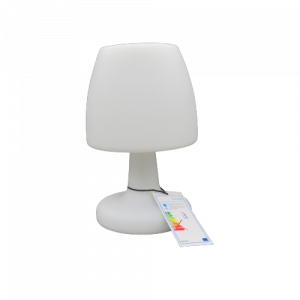 Mascagni lampada da tavolo RGB bianca