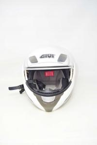 Helmet Motorcycle Givi Whitexmodular Technology Hpsx. 08