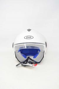 Helmet Motorcycle Bhr White Ece R-22-05