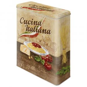 Scatola XL Cucina Italiana di latta