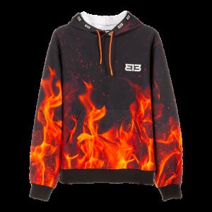 313 Hoodie Flame