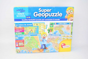 Game Super Geopuzzle Lisciani Games S